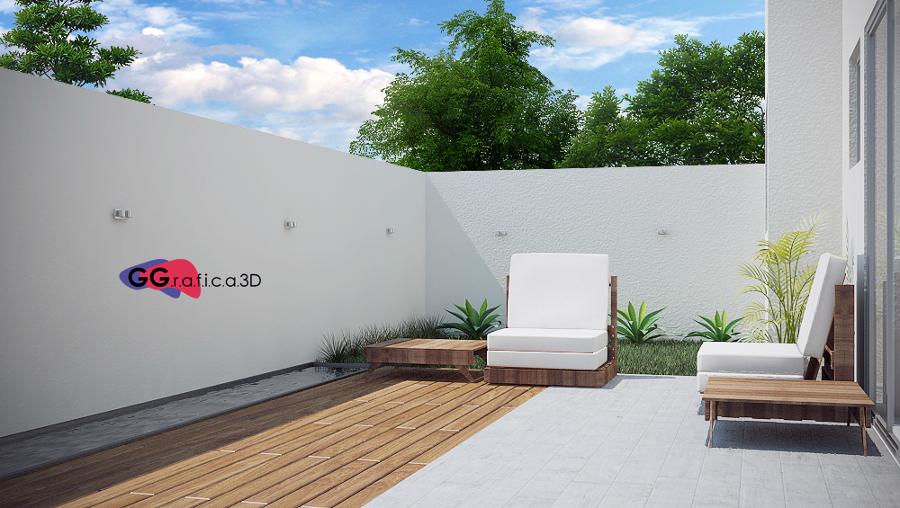 Foto terraza dise o de interiores e infograf a de gg - Diseno de terraza ...