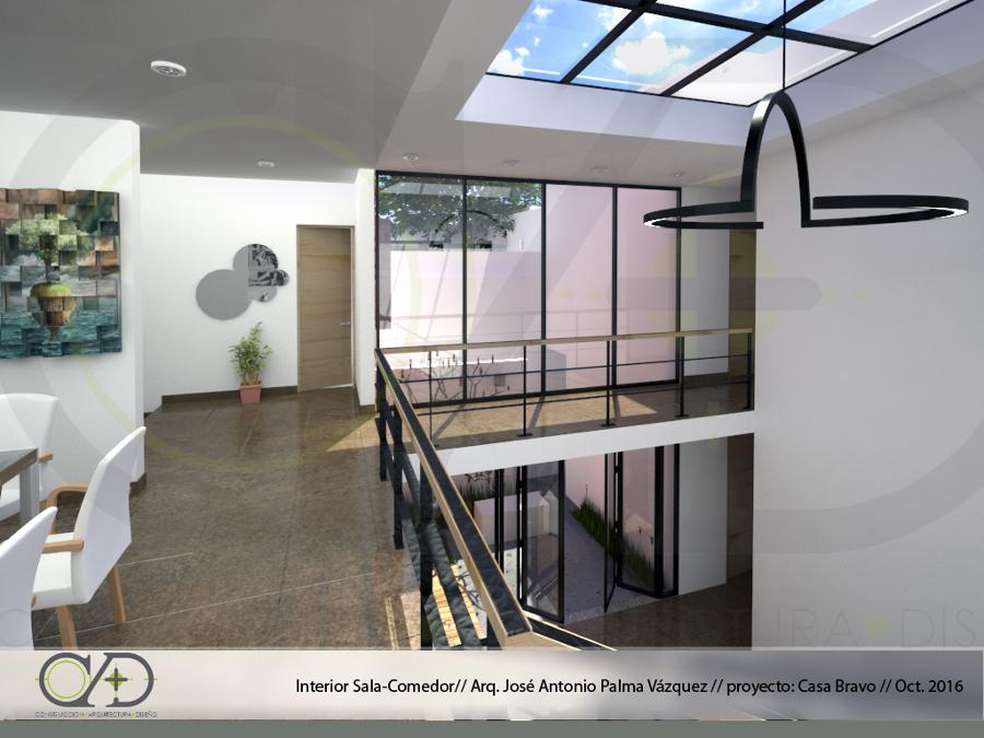 Foto: Casa Bravo Vista Doble Altura De Estudio Cad #233211
