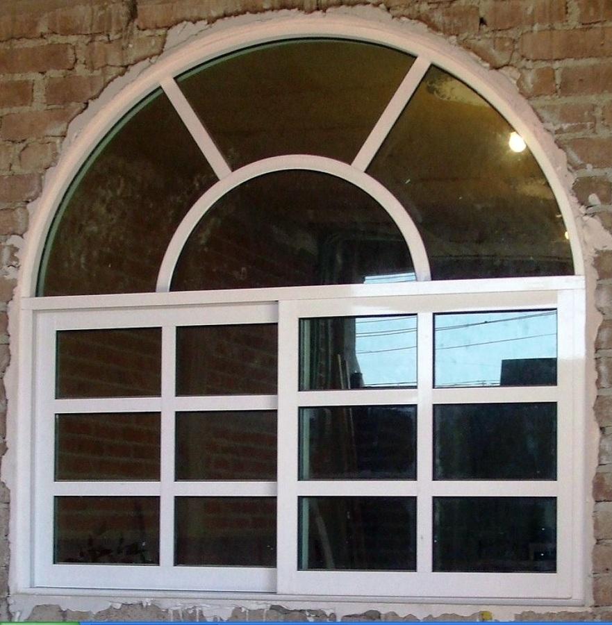 Foto ventana con cercha de aluminio y vidrio mtz 25617 for Ventanales de aluminio zona sur