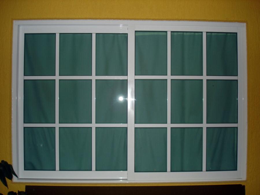 Foto: Ventana con Reticula de Aluminio Decorativo Habitacional ...