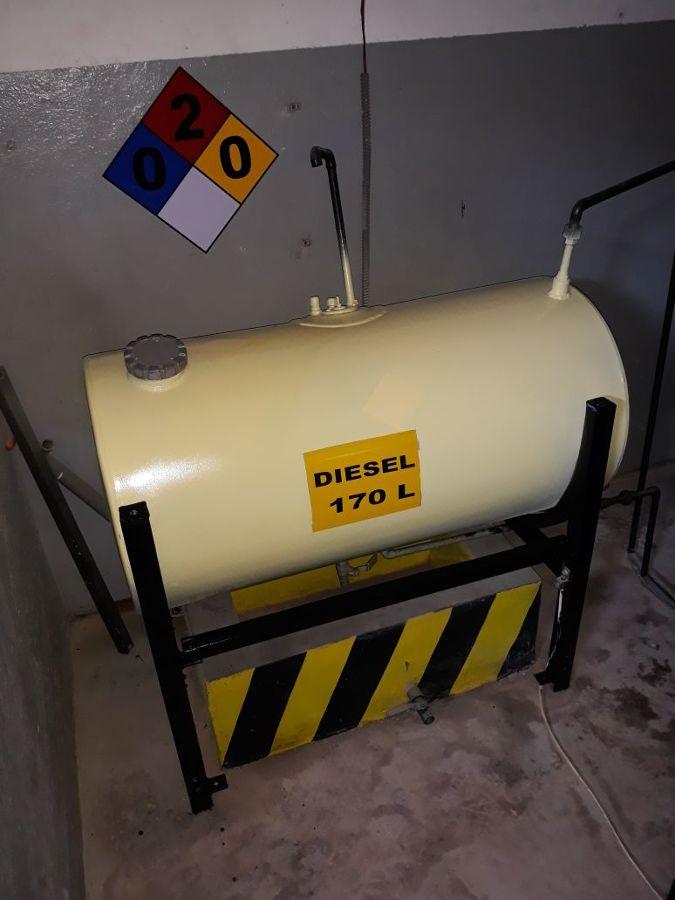 mantenimiento a tanque de combustible Torres escenicas