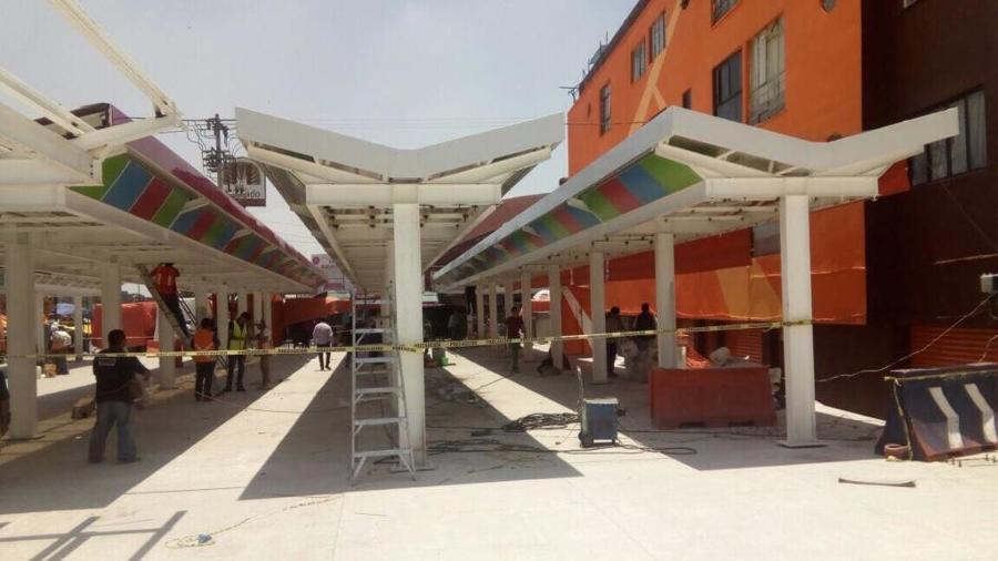 Estructura Plaza Naranja