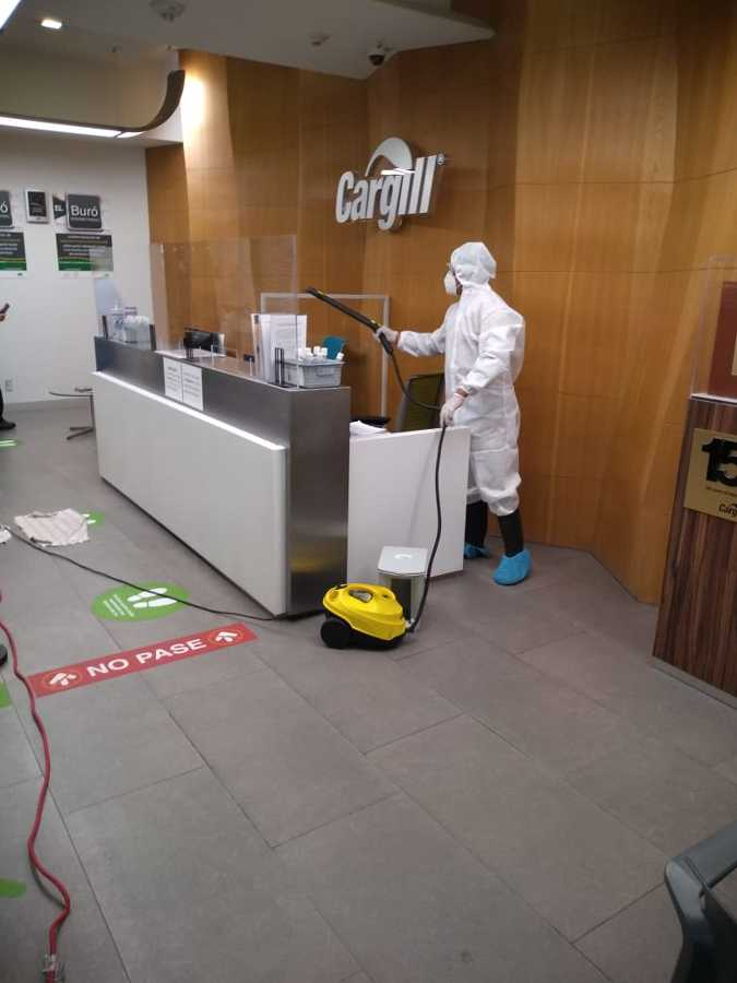 Servicio de Sanitizacion en oficinas