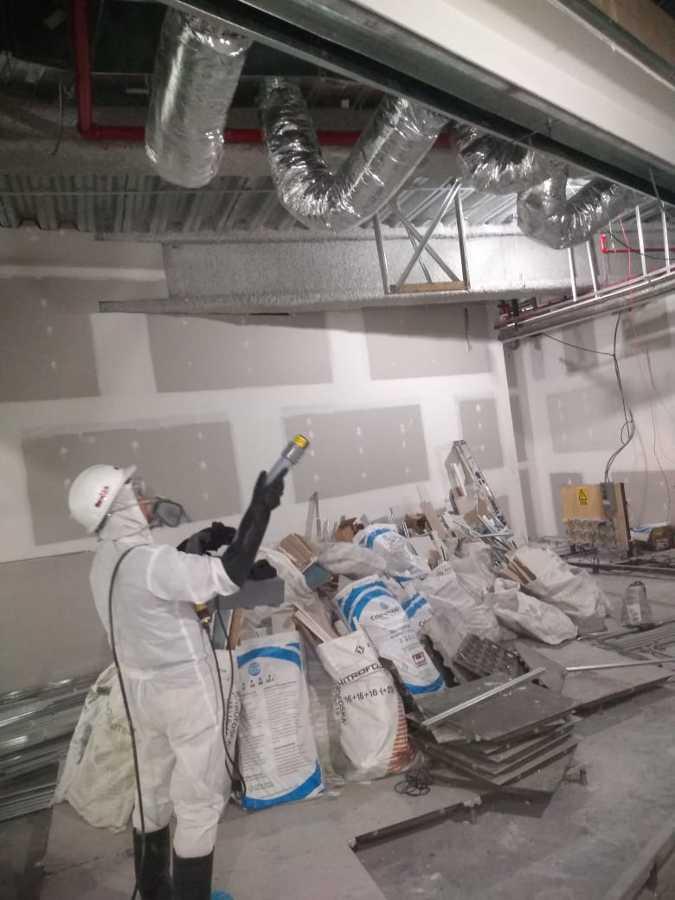 Servicio de Sanitizacion en Obras