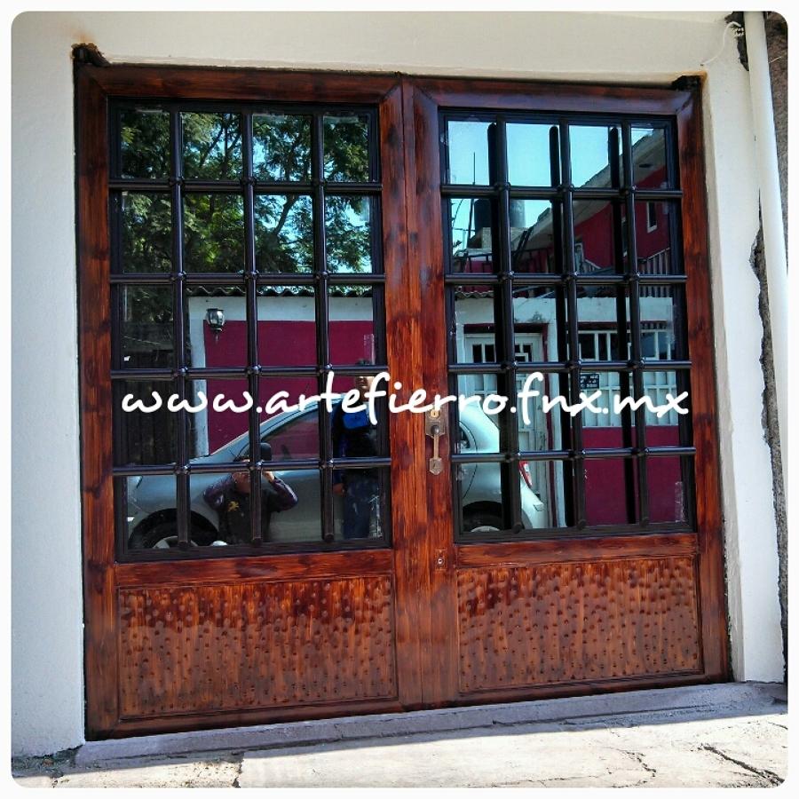 Foto zagu n de arte fierro herrer a contemporanea 52905 for Zaguan de casas modernas
