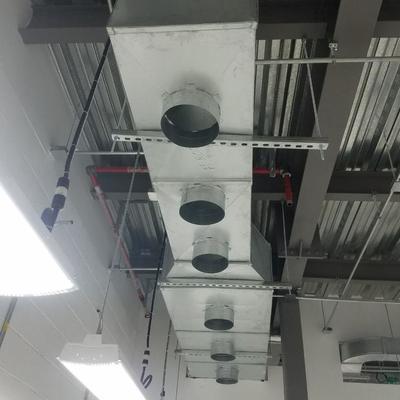 Fabricacion y montaje sistema hvac