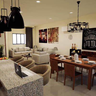 Comedor casa proyecto veredas del mar lote 164 | Mazatlan sinaloa