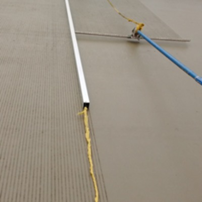 Rayado de concreto