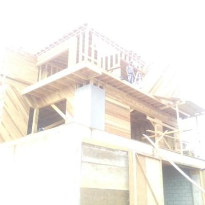 Construcción de cabaña