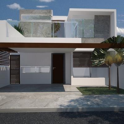 Fachada casa Montes de Amé