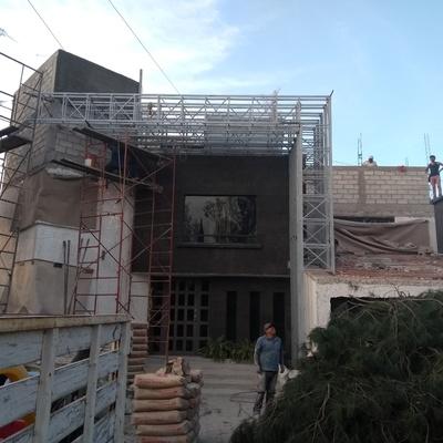 Remodelación de fachada principal