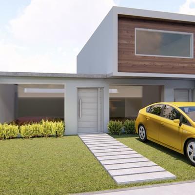 Casa Habitación 10 x 20