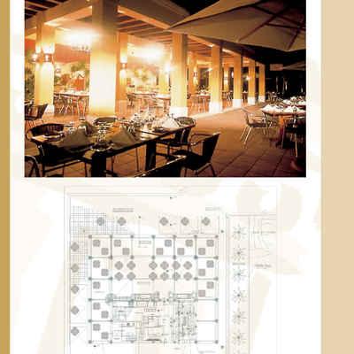 Restaurante de mariscos del hotel Sole Resort's