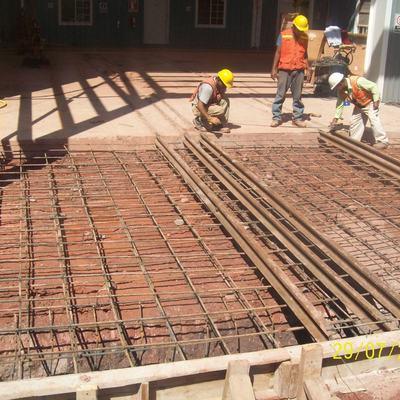 Pisos de concreto reforzado