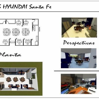 Remodelacion oficinas HYUNDAI