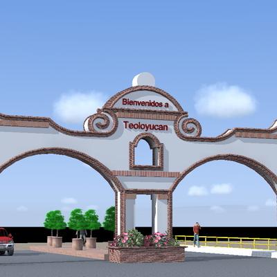 Portada entrada municipio Teoloyu