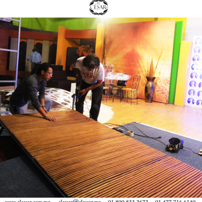 panel decorativo bambú