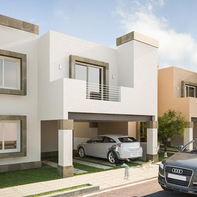 Modelado 3D de fachada