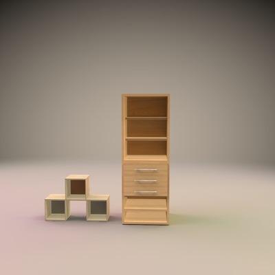 Ejemplo de accesorios para habitacion