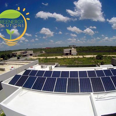 Instalación de 36 paneles solares