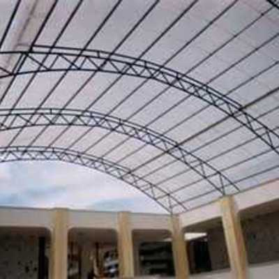 Estructura metálica policarvonato tipo domo