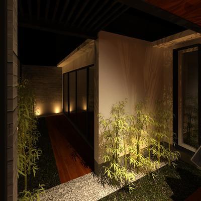 Fachada interior-Casa Misti