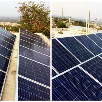 Instalacion de 16 Paneles Solares de 270 Watts