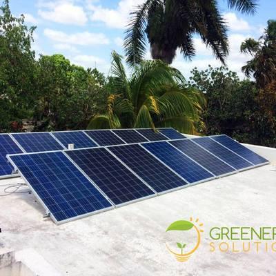 Instalacion de 12 Paneles Solares