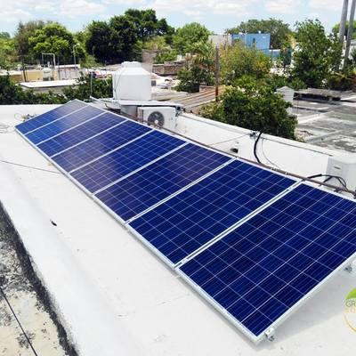 Instalacion de 8 Paneles Solares