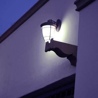 Iluminacion en Fachada
