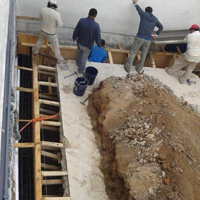 Excavación cimiento