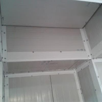 Cámara de refrigeración y congelación