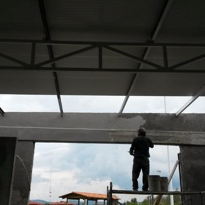 Construcción de bodega