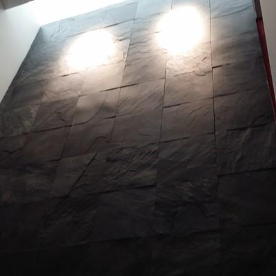 Muro de Pizarra en escaleras