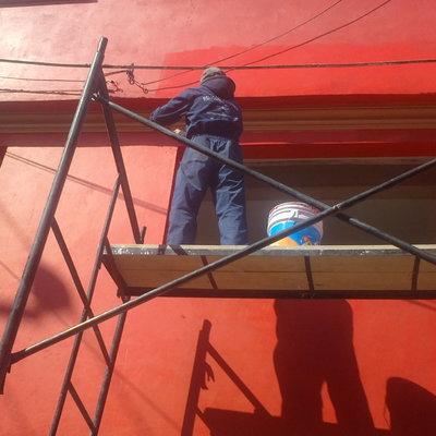 pintura en rojo uasteco