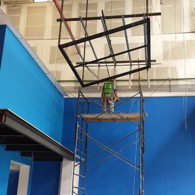 Parque de trampolines Toluca (CONSTRUCCION)