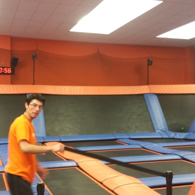 Parque de trampolines Toluca (OBRA TERMINADA)