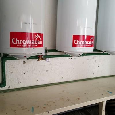 Instalación de intercambiadores de calor para pisos radiantes
