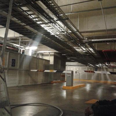 Subestación eléctrica y sistemas de seguridad