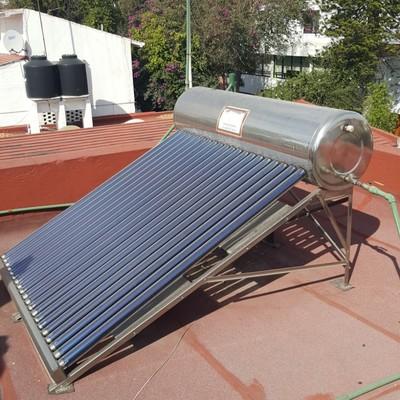 Calentador Solar de agua de 25 tubos