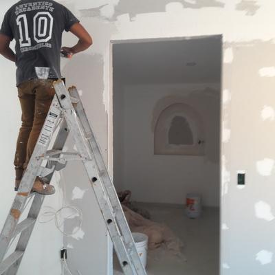 Vestidor de tablaroca en casa-habitación