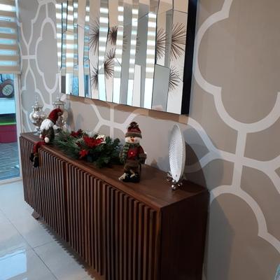 Diseño de mobiliario y papel tapiz