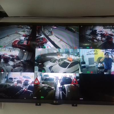 instalación en venta de automoviles de 8 camaras hd