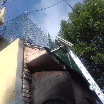 Anclaje de camara con tubería Metalica exterior