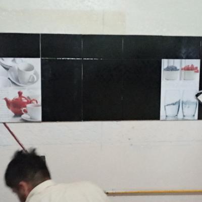 Colocación azulejo