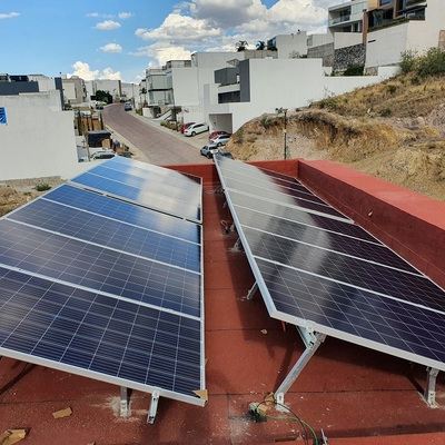 Paneles Solares Instalados
