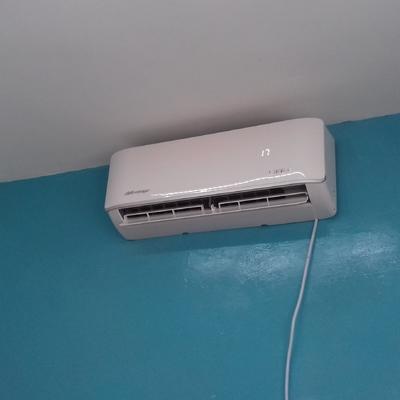 Evaporador funcionando