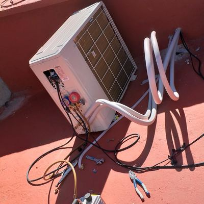 Instalación de equipos inverter con bomba de calor