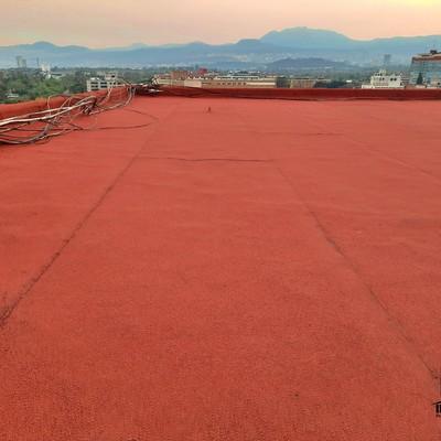 Impermeabilizante prefabricado terracota.