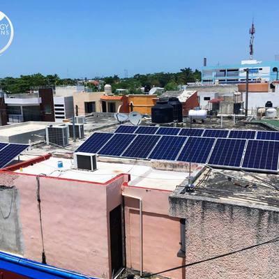 Instalacion de 30 Paneles Solares